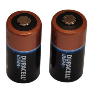 Pro Ears Accessories PEBATL Set of Two Lithium 123a Batteries
