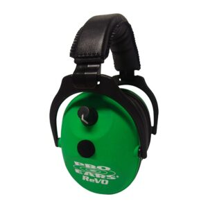 Pro Ears ER300NG ReVO Electronic Neon Green Main View