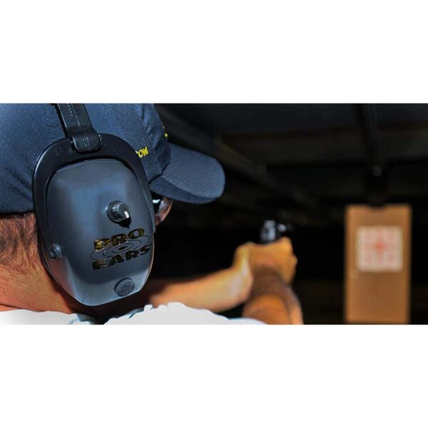 Pro Ears GSDPMB Pro Mag Gold Electronic Ear Hearing Protection Earmuffs Lifestyle Shooting Range Pistol