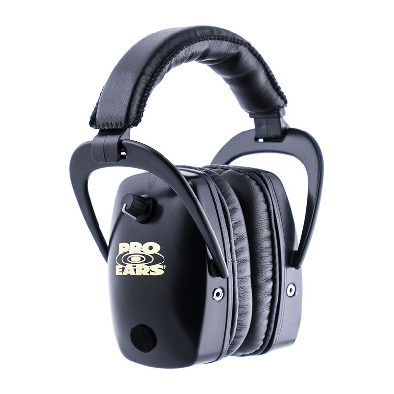 Pro Ears GSDPSB Pro Slim Gold Black Main View
