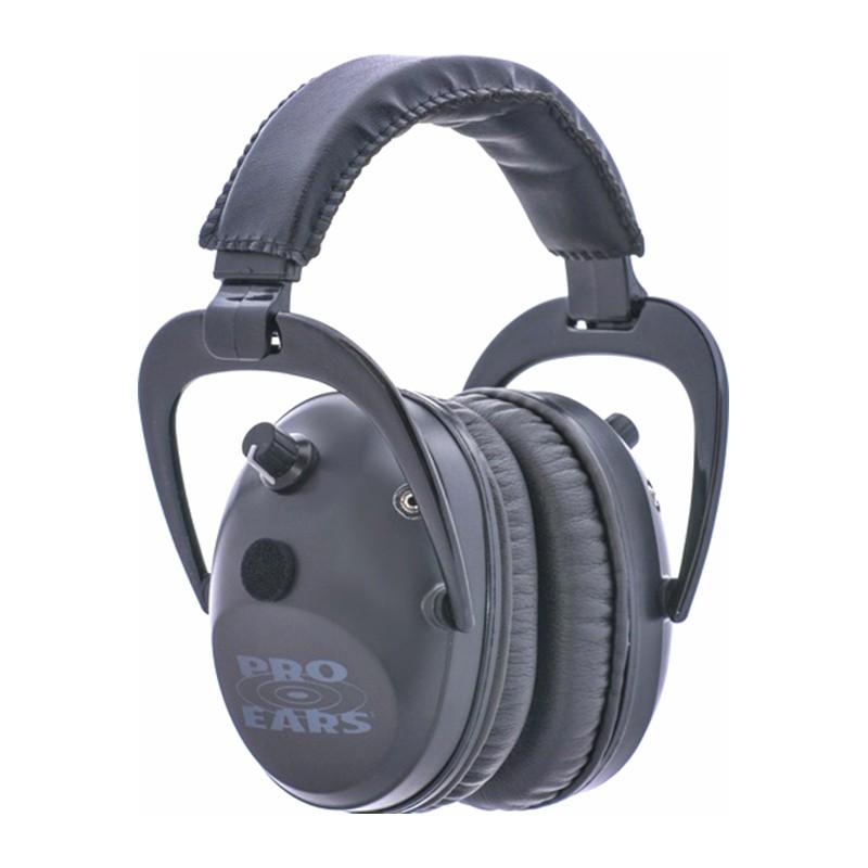 Pro Ears GSPT300B Pro Tac Plus Gold Black Main View