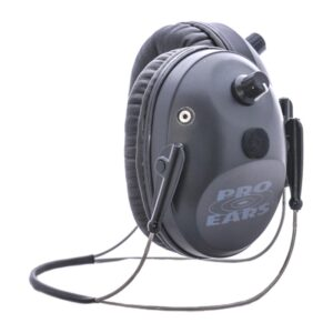 Pro Ears GSPT300BBH Pro Tac Plus Gold Black Behind the Head Main View