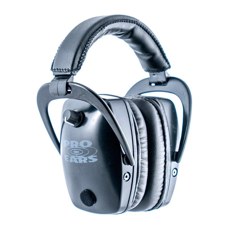 Pro Ears GSPTSB Pro Tac Slim Gold Black Main View