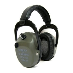 Pro Ears GSPTSTLLG Pro Tac SC Gold Green Lithium Main View