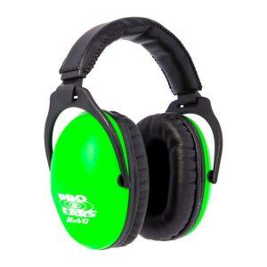 Pro Ears PE26UY003 ReVO Passive Neon Green Main View