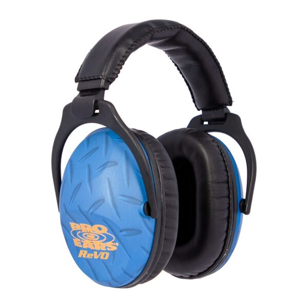 Pro Ears PE26UY010 ReVO Passive Blue Diamond Plate Main View