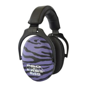 Pro Ears PE26UY022Z ReVO Passive Purple Zebra Main View