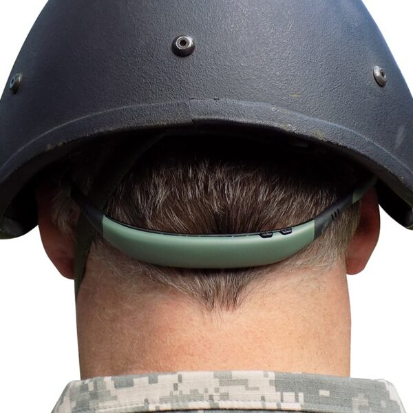 Pro Ears PEEBBGRN Stealth 28 Green Lifestyle Military Electronic Hearing Protection Amplification