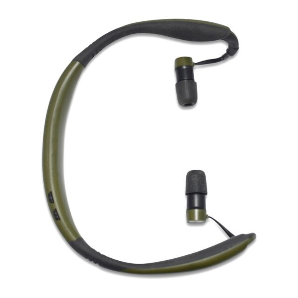 Pro Ears PEEBBGRN Stealth 28 Green Top View Electronic Hearing Protection Amplification