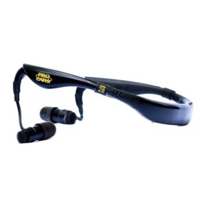 Pro Ears PEEBBLK Stealth 28 Black Main View Electronic Hearing Protection Amplification
