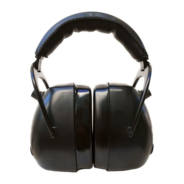 Pro Ears PEG2RMB Gold II 30 Black Front View Electronic Ear Hearing Protection Earmuffs