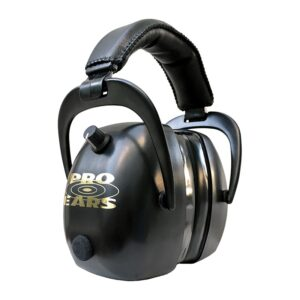 Pro Ears PEG2RMB Gold II 30 Black Main View Electronic Ear Hearing Protection Earmuffs