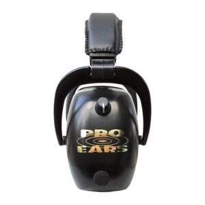 Pro Ears PEG2RMB Gold II 30 Black Side View Electronic Ear Hearing Protection Earmuffs
