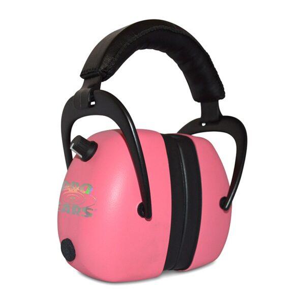 Pro Ears PEG2RMP Gold II 30 Pink Main View Electronic Ear Hearing Protection Earmuffs