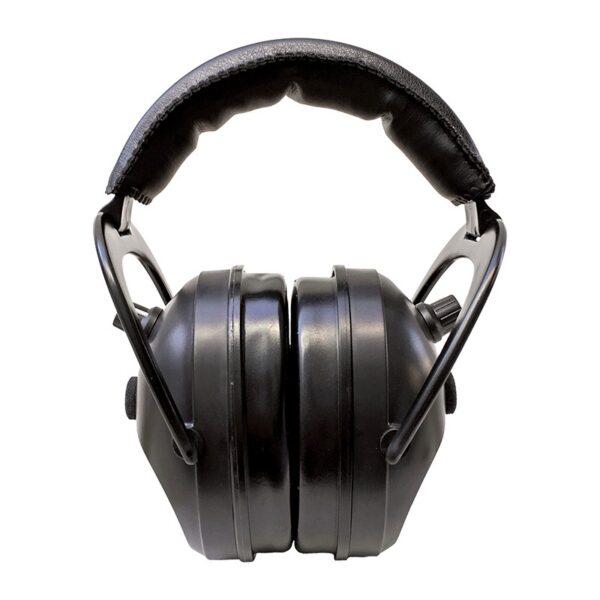 Pro Ears PEG2SMB Gold II 26 Black Front View Electronic Ear Hearing Protection Earmuffs