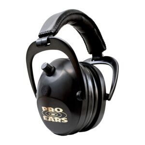 Pro Ears PEG2SMB Gold II 26 Black Main View Electronic Ear Hearing Protection Earmuffs