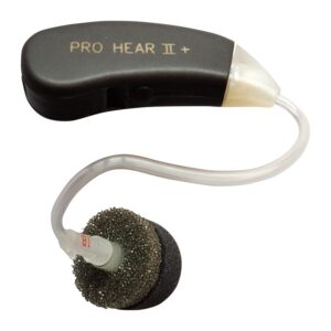 Pro Ears PH2PBTE Pro Hear II Black Main View