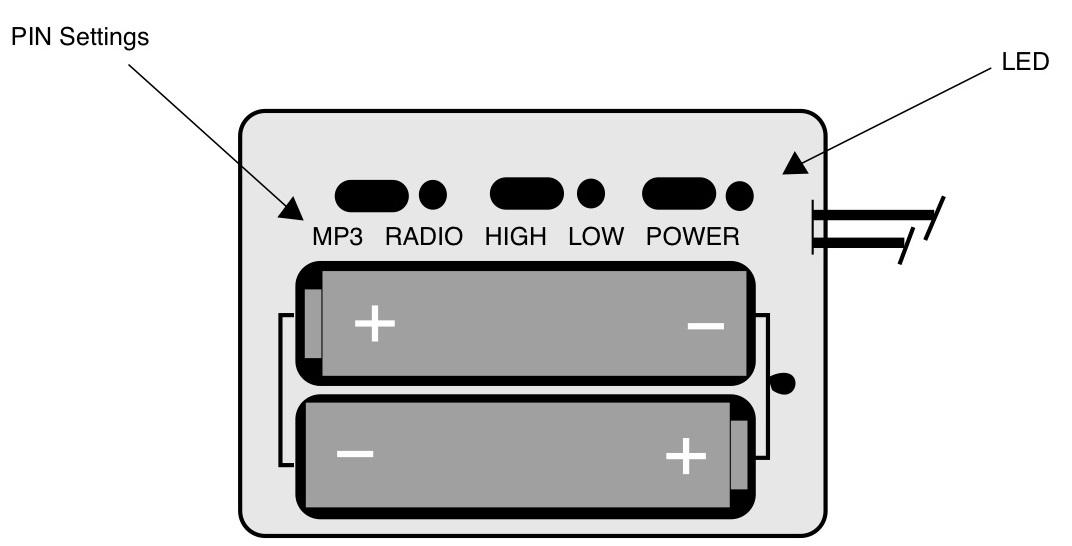 Pro Ears Radio Circuit Image