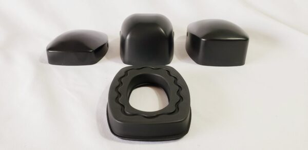 Cup Styles for Rectangular Gel Ear Seal